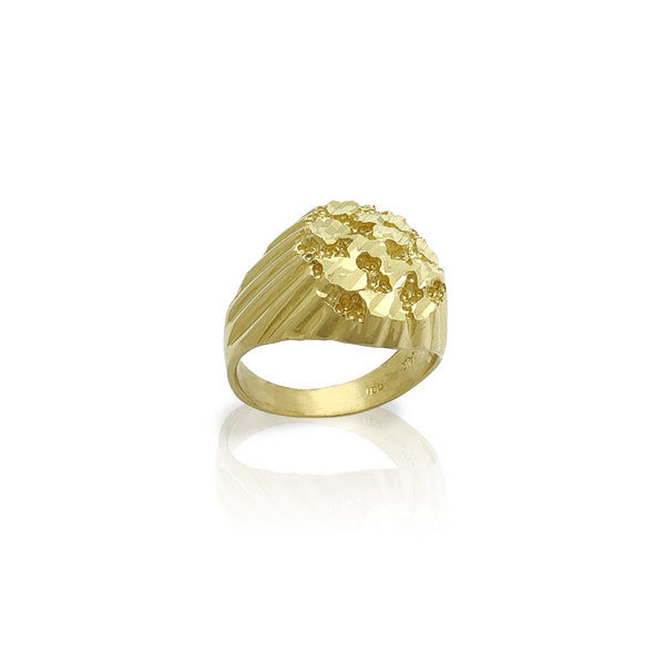 Outstanding Nugget Ring (14K) Popular Jewelry New York