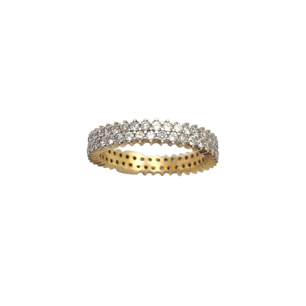 Pave Eternity Ring (14K) Popular Jewelry New York