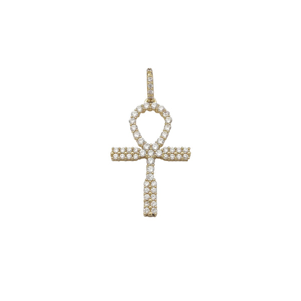 Pave Ankh Pendant (10K) Popular Jewelry New York