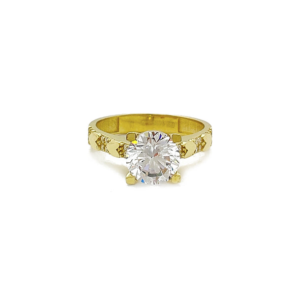 Pave Love Engagement Ring (10K) Popular Jewelry New York