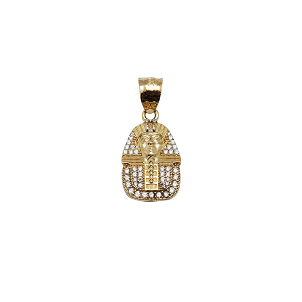 Iced-Out Pharaoh Pendant (14K)