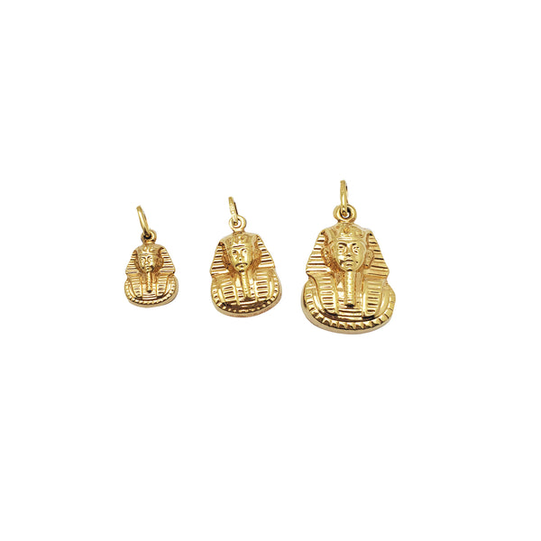 Yellow Gold Egyptian Pharaoh Pendant (14K)