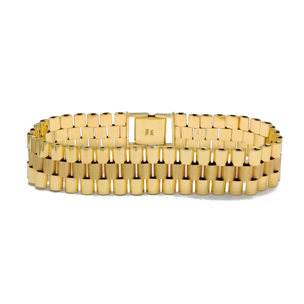 Presidential Gold Bracelet (14K) Popular Jewelry New York