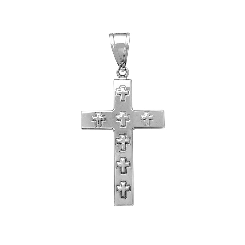 Puffy Cross Anheng (14K) Popular Jewelry New York