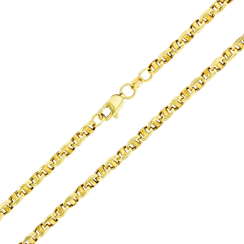 Puffy Mariner Bracelet (14K) Popular Jewelry New York