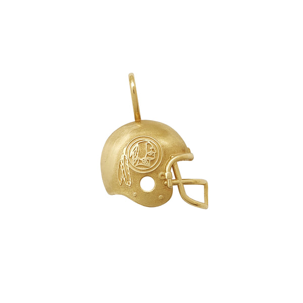 Ciondolo casco football americano Redskins (14K) Popular Jewelry New York