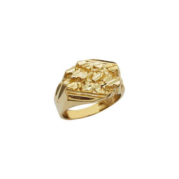 Ridged Nugget Ring (10K) Popular Jewelry New York