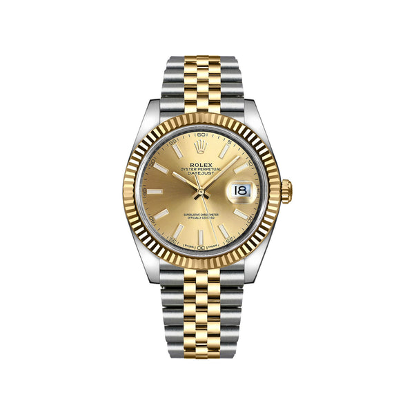 Rolex Datejust 41 Watch 126333 front - Popular Jewelry - New York