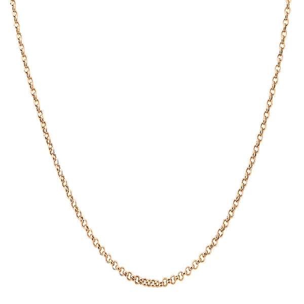 Rolo/Cable Rose Gold Chain (14K)