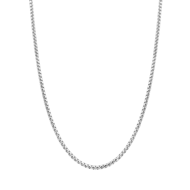 Round Box Chain (Silver) Popular Jewelry New York