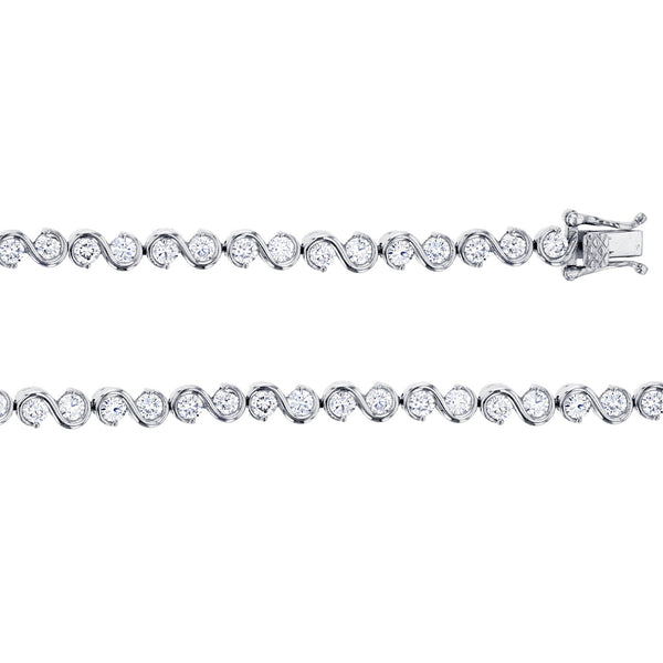 S-Link Tennis Bracelet (Silver) Popular Jewelry New York