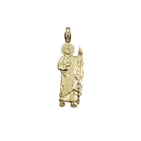 Yellow Gold Saint Jude Pendant (14K)