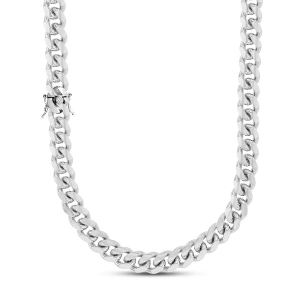 Solid Miami Cuban Chain (Silver)