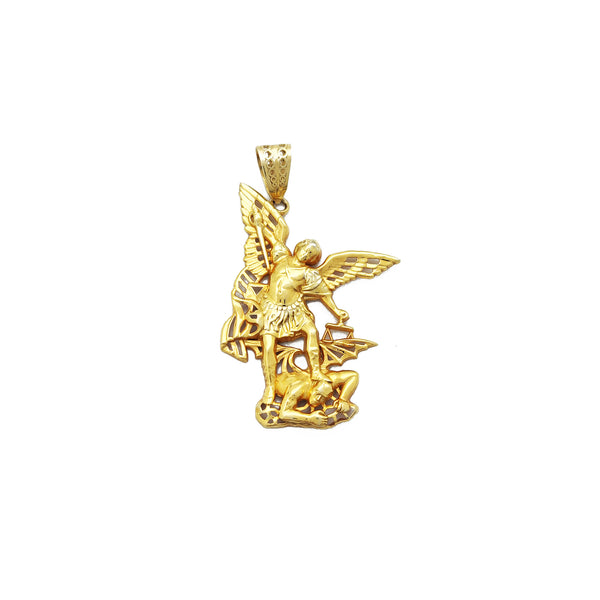 Saint Michael Pendant (14K) Popular Jewelry New York
