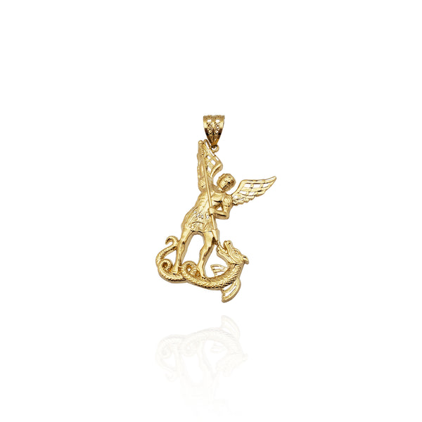 Pendant Saint Michael Spear (14K)