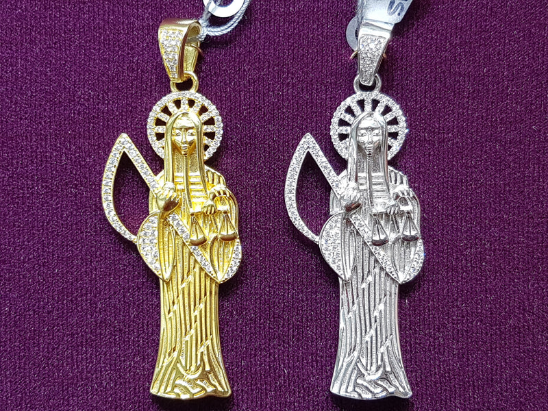 products/Santa-Muerte-Pendant-Sterling-Silver-CZ-Micropave-Yellow-White-Multiple.jpg