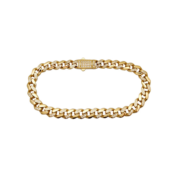 Semi-izige Monaco armband (14K) Popular Jewelry New York