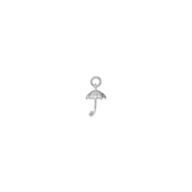 Umbrella Charm (Silver) back - Popular Jewelry - New York