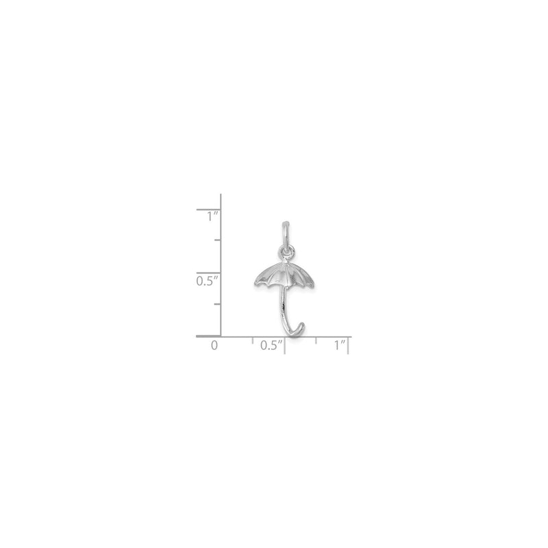 Umbrella Charm (Silver) scale - Popular Jewelry - New York