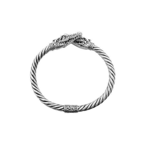 Silver Dragon Bangle (Sulver) Popular Jewelry New York