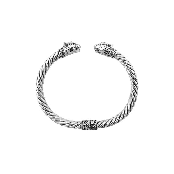 Bracelet léopard argenté (argent) Popular Jewelry New York
