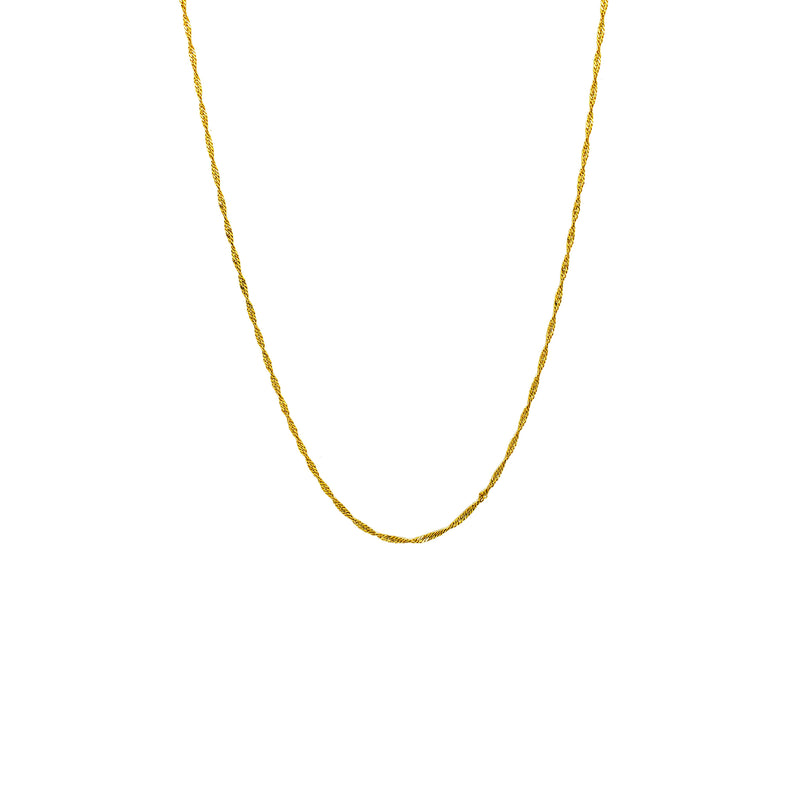 Singapure Chain (14K) Popular Jewelry New York