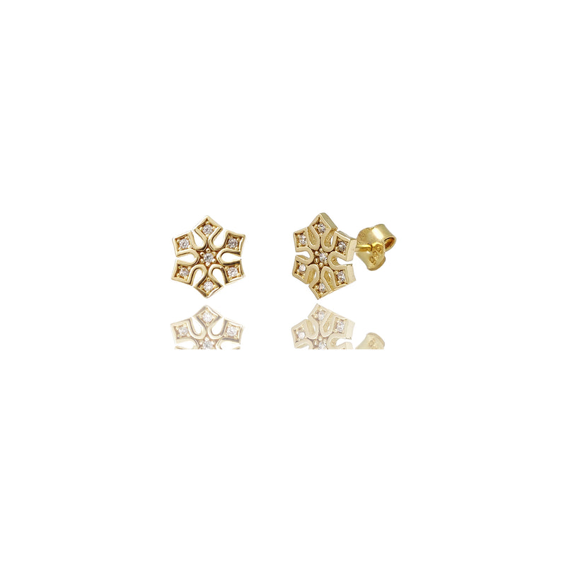 products/Snowflake_Stud_CZ_Earrings_Yellow_Gold_Round_Prong_14K_._E66160_CLOA-TI.jpg