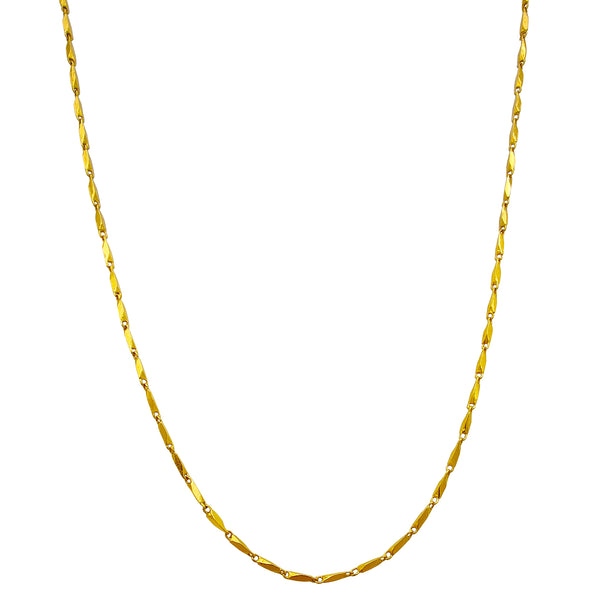 Qattiq razo zanjiri (24K) Popular Jewelry Nyu-York
