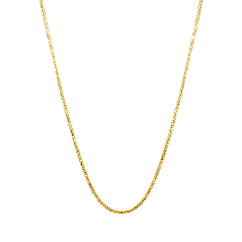Spiga / Square Wheat Chain (14K)