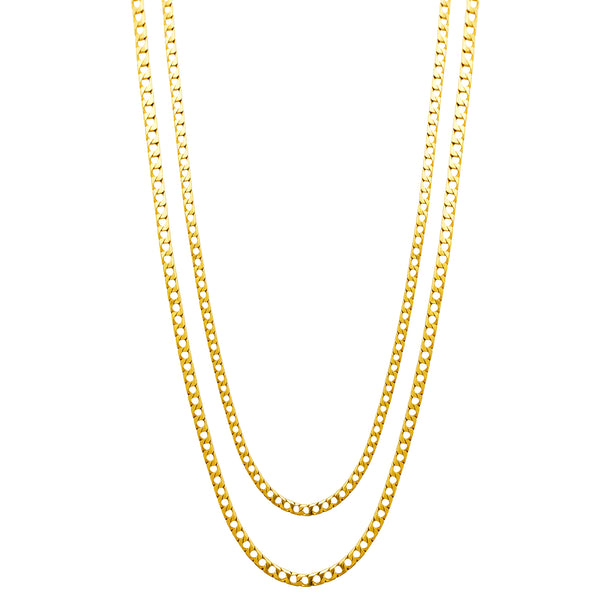 Square Curb Chain (14K) Popular Jewelry New York