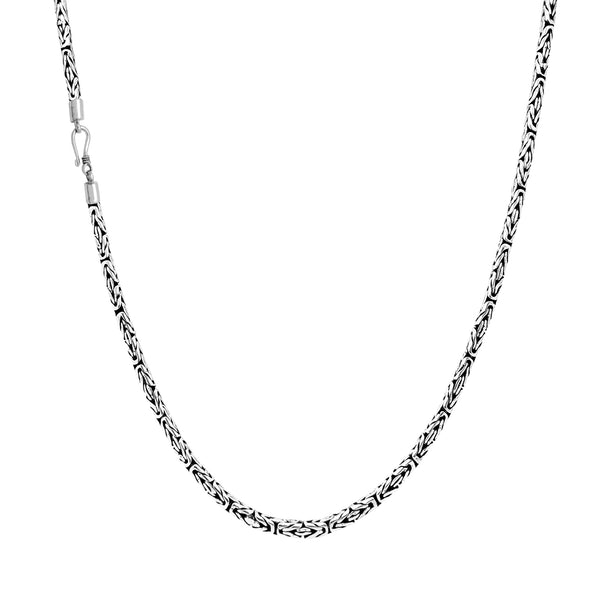 Super-Byzantine Chain (Silver) Popular Jewelry New York