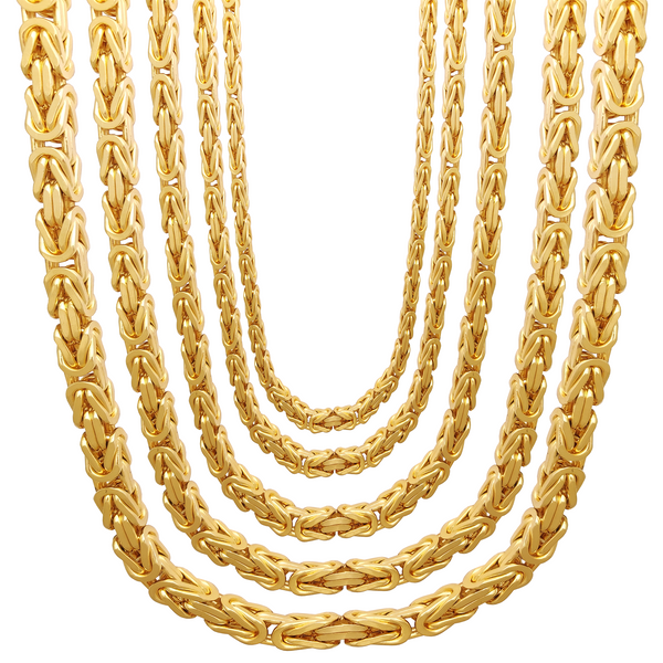 Super-Byzantine Chain (14K) Popular Jewelry New York