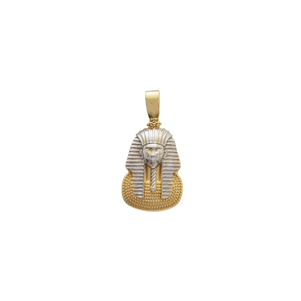 Two-Tone Nefertiti Pendant (14K)
