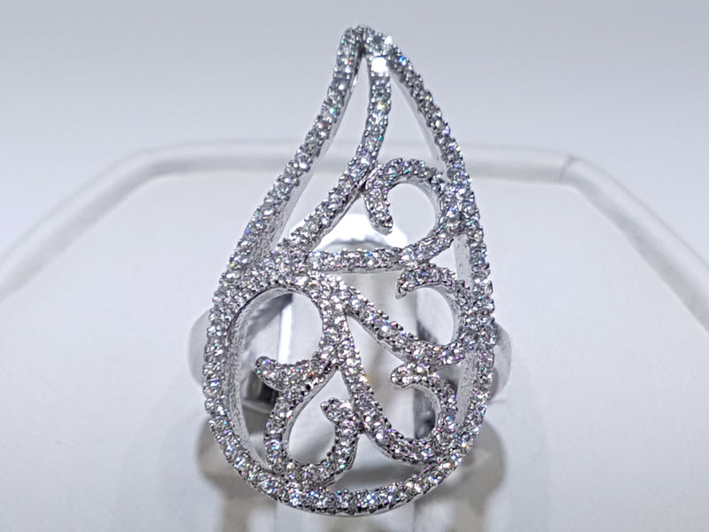 products/Teardrop-Asymmetric-Ring-Silver-Sterling-Cocktail-CZ-cubic-zirconia-zirconium-Micropave-White-Front-Top.jpg