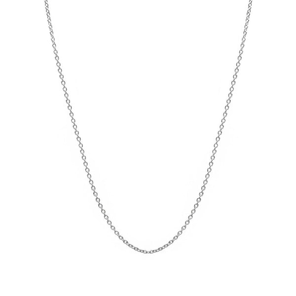 Thin Cable Chain (Silver) Popular Jewelry New York