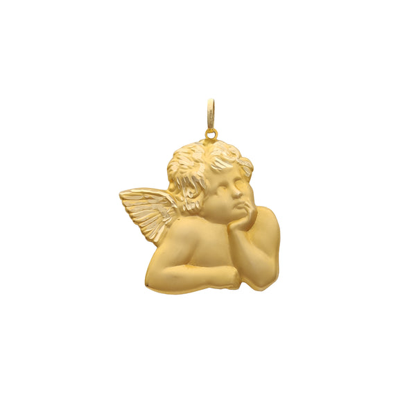 Thoughtful Baby Angel Pendant (14K) Popular Jewelry New York