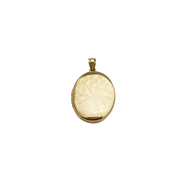 Tree of Life Locket Pendant (14K)
