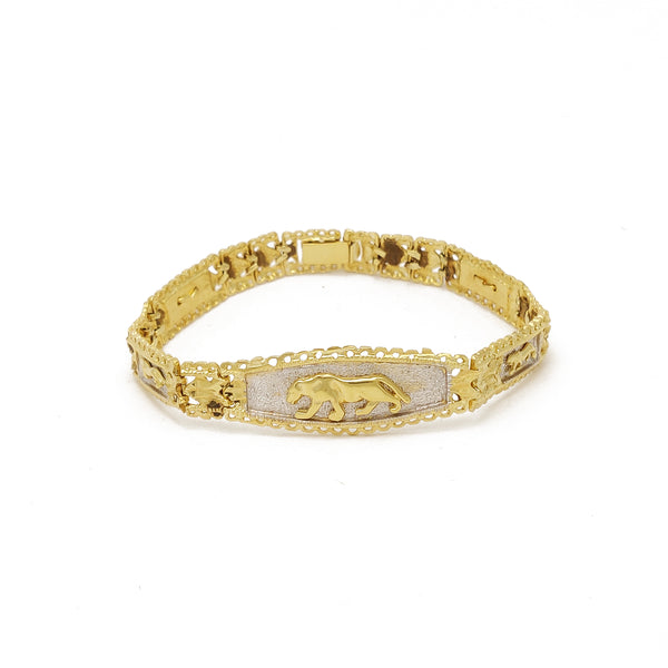 Bracciale Tiger Two Tone (14K)