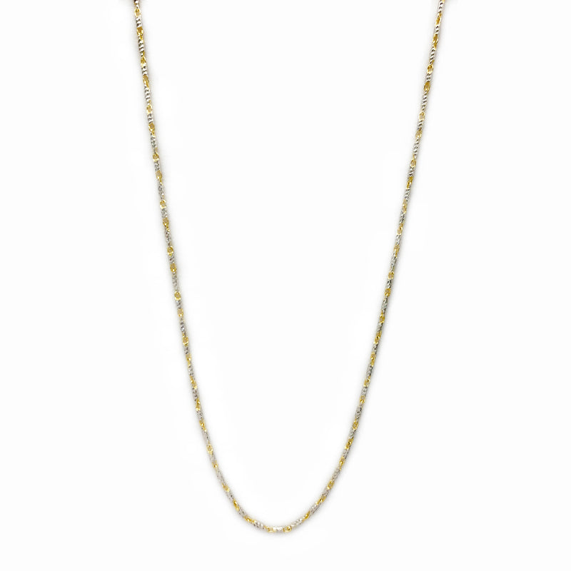 Twa-ton Threaded Vine Chain (14K)