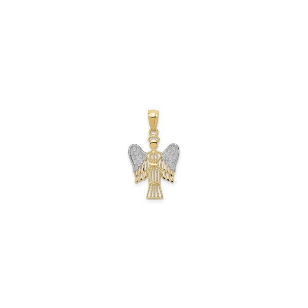 Svelte Angel Pendant (14K) front - Popular Jewelry - New York