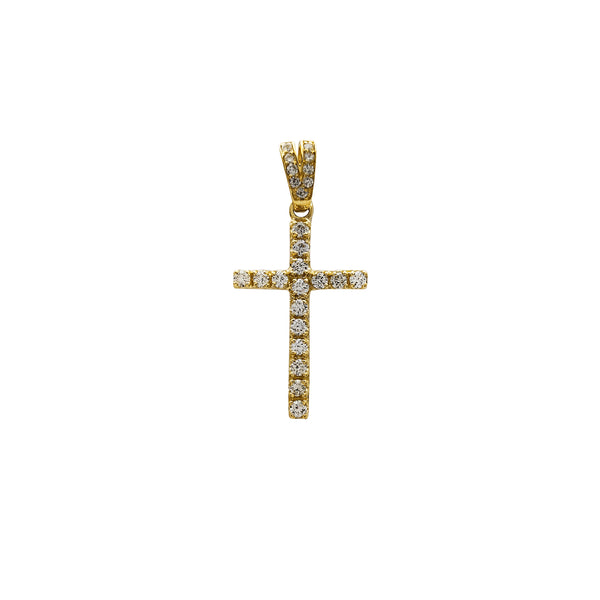VS Diamond Cross Pendant (14K) Popular Jewelry New York