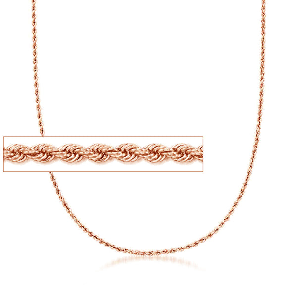 Solid Rope Chain (14K)