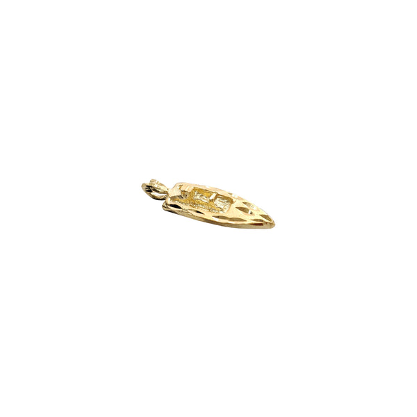 Yacht Pendant (14K) Popular Jewelry New York