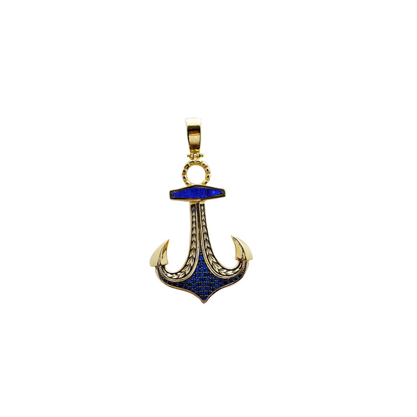 Anchor Pendant (14K)