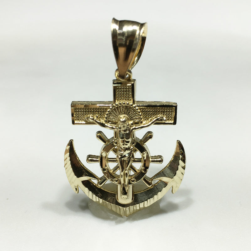 Anchor Pendant 14K - Popular Jewelry