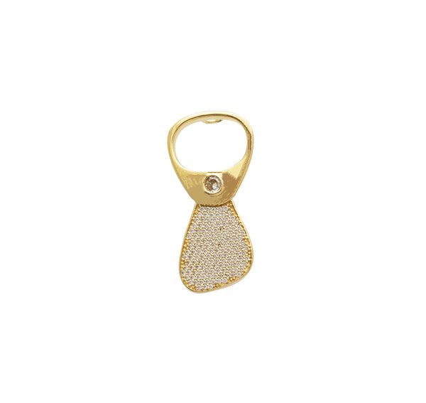 Bottle Opener Pendant (14K)