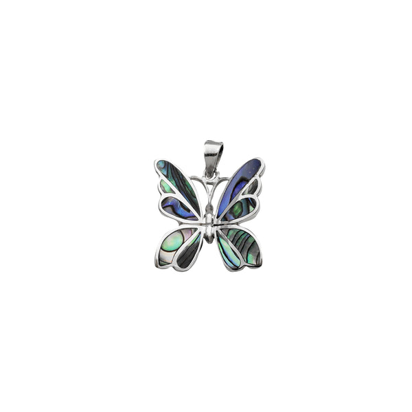 Fancy Butterfly Pendant (Silver)