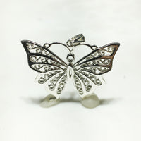 Pendant sa Butterfly (Silver) - Popular Jewelry