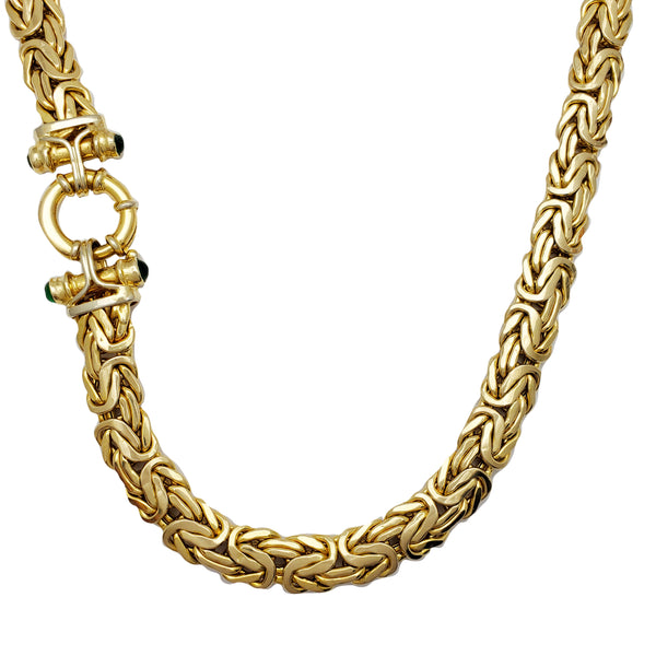 Byzantine Fancy Necklace (14K)