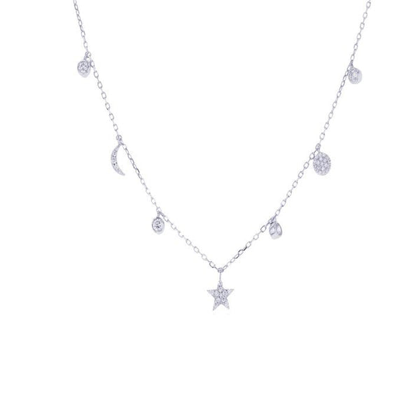 Charm Necklace (Silver)